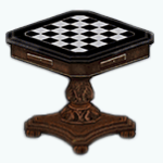 TheVault - Vintage Chess Table