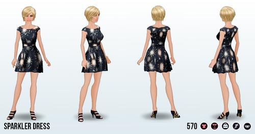 FourthOfJuly - Sparkler Dress