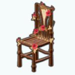 FairMaidenSpin - Flower Chair