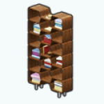 RetroSummerSpin - Retro Bookshelf