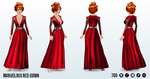 RedPlanetDay - Marvelous Red Gown