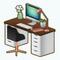 OfficePlaceDecor - Clutter Buster Desk