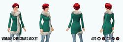 JingleBellsClothing - Vintage Christmas Jacket