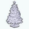WhiteChristmasDecor - White Christmas Tree