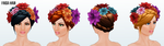 CincoDeMayo - Frida Hair