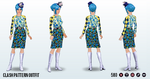 AprilFools - Clash Pattern Outfit