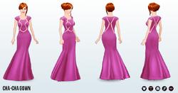 PinkAndPretty - Cha-Cha Gown