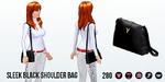 ComplimentDay - Sleek Black Shoulder Bag