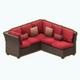 MemorialDay - Backyard Barbecue Couch