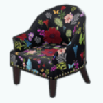 BotanicalBeautySpin - Botanical Chair