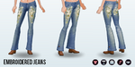 MothersDay - Embroidered Jeans