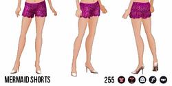 ModernStorybook - Mermaid Shorts red