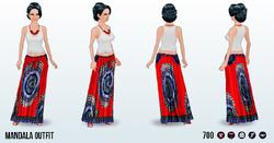 DestinationBaliSpin - Mandala Outfit