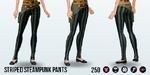 Steampunk - Striped Steampunk Pants