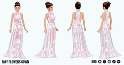 TheVault - May Flowers Gown