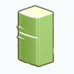 CelebrateGreenerySpreeSpin - Green Apple Fridge