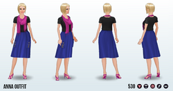 ModernStorybook - Anna Outfit
