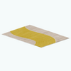 Gift - Yellow Brick Rug