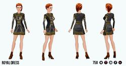 TheVault - Royal Dress