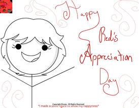 Happy Red's Appreciation Day!