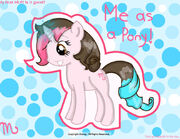 Me (MJ) as a MLP!