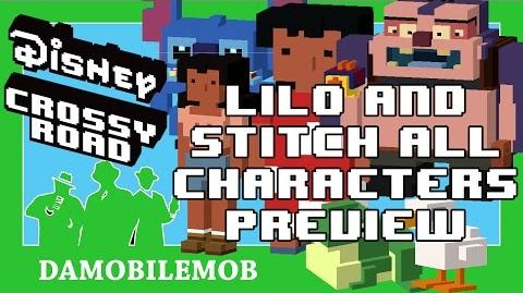 ★ Disney Crossy Road LILO and STITCH All Characters Preview (Lilo and Stitch Update April 2017)