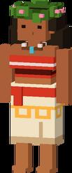Moana Grass Headress