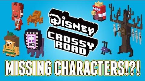 Disney Crossy Road Missing Characters!? Full List Of Retired Characters!-0