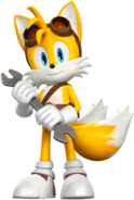Sonic Boom Tails Artworks
