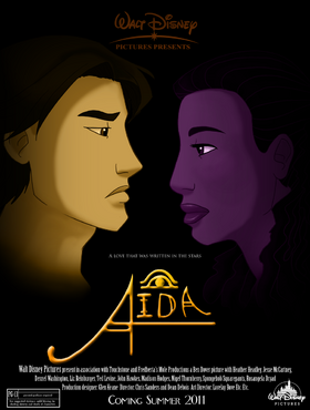 Walt Disney Presents AIDA by Dakotaa