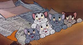 Oliver the Kitten Films - Oliver's siblings