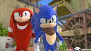 LBS Knuckles and Sonic