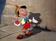 Pinocchio happy