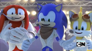 Yes Singin Sonic Tails and Knuckles
