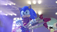 Go Sonic and Rock N Roll