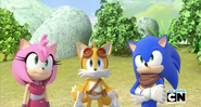SB Amy Tails and Sonic