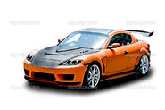 Depositphotos 12106893-Orange-sports-car