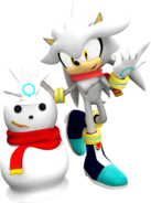Sonic christmas silver