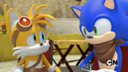 SB Tails and Sonic 01