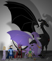 Character Lineup by jaunty eyepatch
