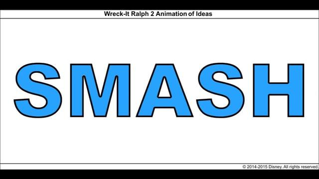 Wreck-It Ralph 2 Animation of Ideas 8
