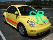 Yellow bug 318