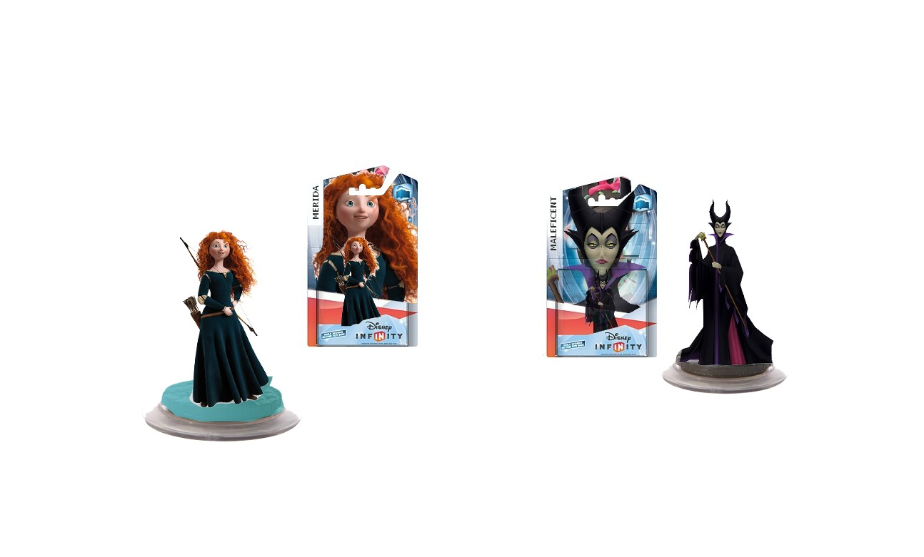 Image Maleficent And Merida Toy Box Jpg Disney