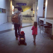 Traveling with bieber