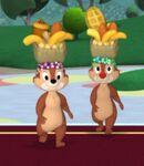 Chip 'n Dale Brazillian Dancers (Minnie's Masquerade)