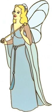 Blue Fairy Clipart