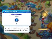 Q-powerful powers