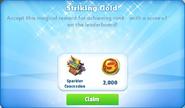 Me-striking gold-21-prize