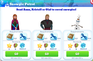 Q-snowgie patrol