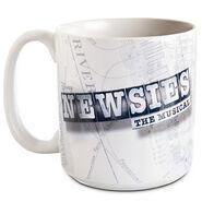 Disney on Broadway Newsies The Musical Mug